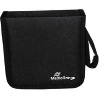MediaRange CD-Wallet für 24 Discs schwarz