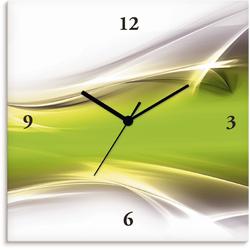 Wanduhr »Kreatives Element«, Wanduhren, 67913147-0 grün grün