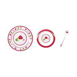 Spiegelburg Kindergeschirr-Set BabyGlück: Mein erstes Geschirr, rosa