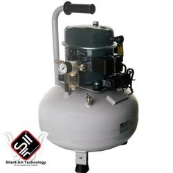 Black Panther P50-24 Kompressor Flüster-Leise mit nur 40 dB(A)/lm, Silair, Silent Kompressor