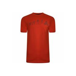 Dare2b T-Shirt Integral Tee mit Print rot XXL