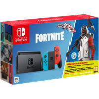 Nintendo Switch neon-rot / neon-blau + Fortnite (Bundle)