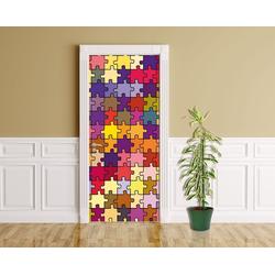Bilderdepot24 Deco-Panel, Türaufkleber - Puzzle