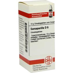 Sarsaparilla D 6 Globuli