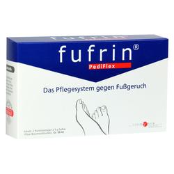 FUFRIN PediFlex Pflegesyst.Socke+Salbe Gr.38-42 2x5 Gramm
