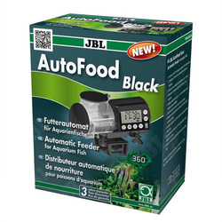 JBL AutoFood BLACK Futterautomat für Aquarienfische