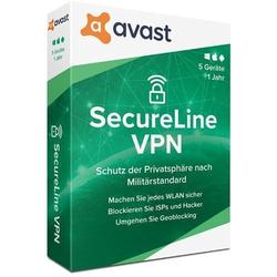 Avast SecureLine VPN, 5 Urządzenia