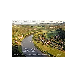 Die Elbe - Deutschlands beliebtester Radwanderweg (Tischkalender 2021 DIN A5 quer)