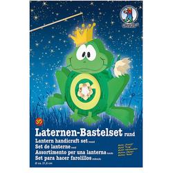 URSUS Laterne Laternen Bastelset Frosch ca. 41 x 38cm