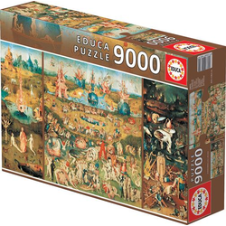 Educa Puzzle. The Garden of earthly Delights 9000Teile