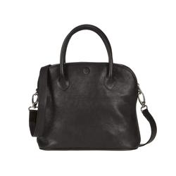 Sonnenleder Shopper Roma T, Damentasche, Ledertasche, Handtasche, süddeutsches Rindleder schwarz