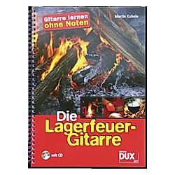 Die Lagerfeuer-Gitarre  m. Audio-CD. Martin Kuhnle  - Buch