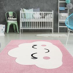 planeo Teppich - Australia - Walgett Rosa 80 x 150 cm - äußerst weicher und kinderfreundlicher Teppich