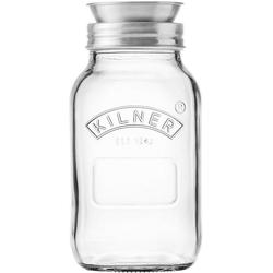 KILNER Spiralschneider (Kilner-Glas mit Spiraliser-Aufsatz), 1 Liter