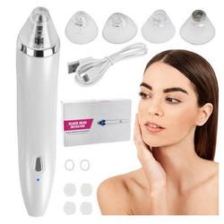cofi1453 Mitesserentferner Elektrische Mitesserentferner JB-8620 Vakuum Facial Pore Cleaner Akne Mitesserentferner Gesichtspore Reiniger in Weiß