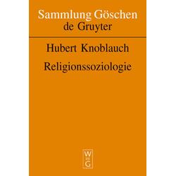 Religionssoziologie: Buch von Hubert Knoblauch