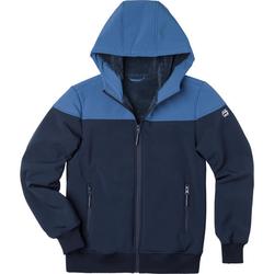Softshell-Jacke, blau, Gr. 176/182 - 176/182 - blau
