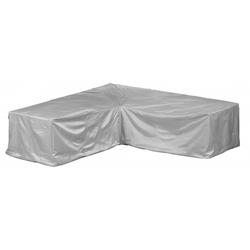 Gardissimo Gartenmöbel Schutzhülle für Lounge Set L-Form Abdeckung Plane 237x237x70 cm #571130