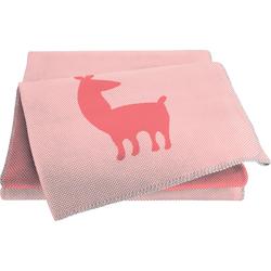 BIEDERLACK Babydecke Alpaca rosa Baby Babydecken Decken