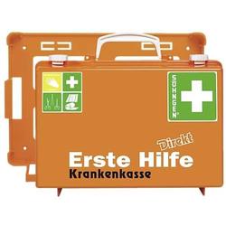 Erste-Hilfe-Koffer Direkt Krankenkasse orange