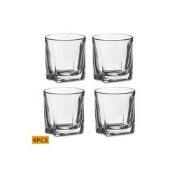 Amisglass Whiskyglas (4-tlg), Kristallglas
