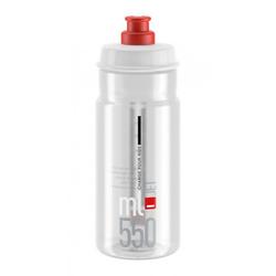 Elite Trinkflasche Trinkflasche Elite Jet 550ml, klar/rot