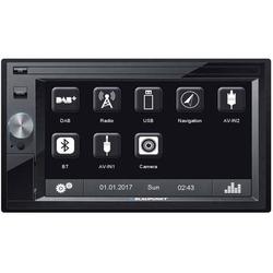 Blaupunkt OSLO 370DAB Doppel-DIN Autoradio DAB+ Tuner, Bluetooth®-Freisprecheinrichtung, Anschluss