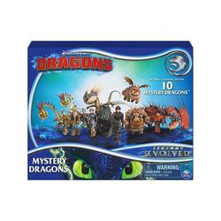 Spin Master Spielfigur Spin Master 6055950 (20122577) - DreamWorks - Dragons - Sammelfiguren, 10-er Pack, Mystery Dragons