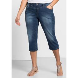 Sheego 3/4-Jeans Sheego blue Denim