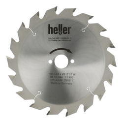 Heller Tischkreissägeblatt 190 x 2,2 x 30 x 6 x TF neg