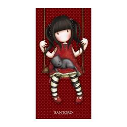 SANTORO London Handtuch Gorjuss Santoro - Designer Badetuch, 70x140 cm (1-St), 100% Baumwolle