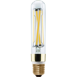 SEGULA LED High Brightness Tube Slim, klar LED-Filament, E27, Warmweiß, High Brightness