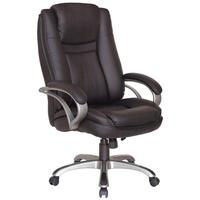 Homexperts Chefsessel Bud XXL mit gepolsterten Armlehnen und Wippmechanik