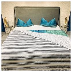 Bettüberwurf Bettdecke Allzweckdecke Steppdecke Überwurf Kuscheldecke Wohndecke, Mucola, auch als Tischdecke und Sofaüberwurf einsetzbar 210 cm x 140 cm
