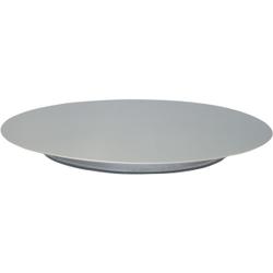 SCHNEIDER Tortenplatte, Edelstahl, Kuchenplatte aus Edelstahl, Durchmesser: 360 mm