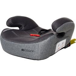 Sitzerhöhung Lux Isofix & Gurtfix, Universe Grey grau Gr. 15-36 kg