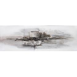 Ölgemälde Kunstwerk, 150/50 cm, handgemalt