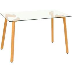 Esstisch, Breite 120 oder 140 cm 140 cm x 70 cm x 75 cm