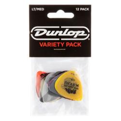 Dunlop PVP 101 Variety Picks LT/MED 12-er Pack