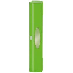 WENKO Folienspender Perfect-Cutter, mit Sichtfenster grün