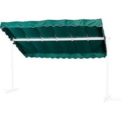 Grasekamp Ersatzdach Standmarkise Dubai Grün  Raffmarkise Ziehharmonika Mobile Markise