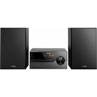 Philips BTB2515/12 Stereoanlage, Bluetooth, Digitalradio (DAB+), 1x USB schwarz