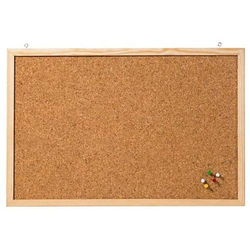 Korktafel Memoboard 40x30 cm Braun