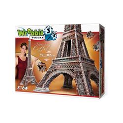Wrebbit 3D-Puzzle Wrebbit 3D Puzzle 816 Teile Eiffelturm, Puzzleteile