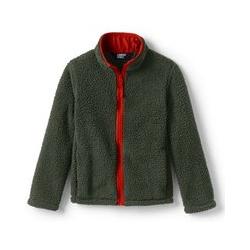 Jacke aus Teddyfleece - 110/116 - Grün