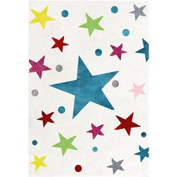 Kinderteppich, STARS creme/multi Gr. 120 x 180