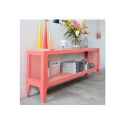 WYE Lowboard Lowboard, chamfer, nachhaltiges Möbeldesign rosa