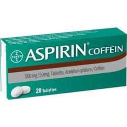 ASPIRIN Coffein Tabletten 20 St