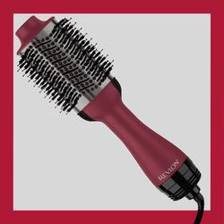 RVDR5279UKE Haarbürste Schwarz, Rot mit Ionisierung