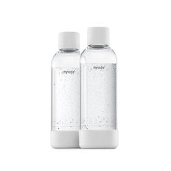 MySoda 1L Flasche 2er-Pack Weiß